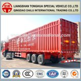 3-Axles Straight Beam Van Standard Semi General Trailer card for Transportation