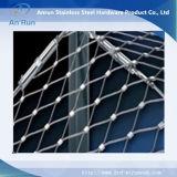 스테인리스 철사 밧줄 장식적인 금속 담 직물