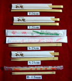 Baguettes de bambou de vaisselle de vaisselle utilisées par restaurant de l'hôtel %26