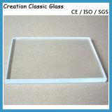 3-19mm flaches ausgeglichenes Glas für Glasspeisetisch/Dusche-Glas