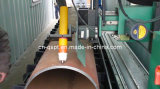 Plasma della fiamma della conduttura di CNC che smussa & tagliatrice (tipo del banco del rullo)