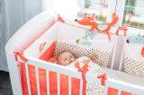 Muti-functie de Vos van de Pluche met het Stuk speelgoed van het Bed van de Baby van Rammelaars