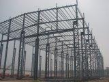 Taller prefabricado de la estructura de acero/almacén de la estructura de acero