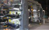 7 serie di stampa di 4color Flexo che scanala macchina tagliante