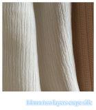レディースイブニングドレスのための2層のクレープシルク