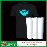 QingyiのTシャツのための暗いフィルムのよい価格の白熱
