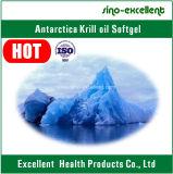 Óleo antárctico Softgel/brandamente cápsula do Krill