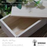 Hongdaoのカスタム簡単な木の滑走のふたボックス価格Wholesale_L