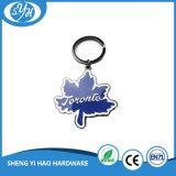 Heißer Verkauf kundenspezifisches Auto-Firmenzeichen-Leder Keychain
