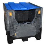 PP plástica de empilhamento dobrável caixa de palete de plástico dobrável