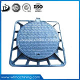 연성이 있는 철 맨홀 뚜껑에 있는 중국 주조 공급자 Qt500-7/Ggg50 원형 맨홀