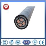 Câble d'alimentation souterrain de cuivre de gaine blindée de PVC isolé par XLPE de fil d'acier de conducteur