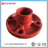 Nodular Iron Reducing Tee (sortie filetée) FM / UL approuvé