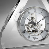 Reloj cristalino del vector de lujo para la decoración casera M-5058