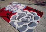 Moderner Entwurfs-Acrylhandbüscheliger Wolldecke-Teppich