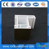 Perfil de aço da extrusão do PVC do plástico de 60 séries mesma qualidade que perfis de Kinbon UPVC