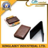 Le cuir personnalisé a fait le clip d'argent pour le souvenir (KMC-001)