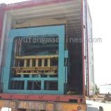Machine de fabrication de brique Qt4-15c machine de moulage creuse automatique de brique de la colle
