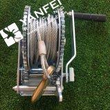 ручная лебедка 800kgs с веревочкой стального провода