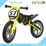 Moto de madera del entrenamiento de Toldder de la bici del balance de los cabritos de los juguetes del bebé