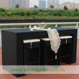Jogo de jantar ao ar livre de vime (WH-D615)
