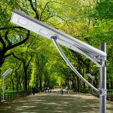 Todos en una lámpara de calle integrada solar