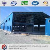Полуфабрикат стальное здание для пакгауза стальной структуры