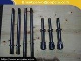 CNC forjado que faz à máquina o eixo hidráulico inoxidável do aço AISI4130