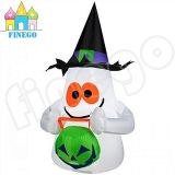 PVC Inflatable Hallowmas Decorations Inflatable Cute Ghost für Promotion
