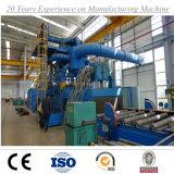 Transportadores de rodillos de acero A través plato disparó voladura máquina con Ce ISO SGS