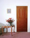 Porte de HDF moderne en placage de bois (porte HDF)