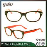 Frame van het Schouwspel van het Oogglas Eyewear van de Acetaat van de manier het In het groot Optische Sr6039