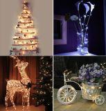 de LEIDENE van de Draad van het Koper van 10m Lichten van het Koord voor de Decoratie van de Tuin van de Vakantie van Kerstmis