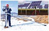 Bélier au sol de vis hélicoïdale en métal galvanisé à chaud pour la base solaire de projet