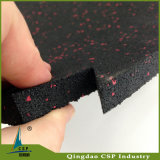 Циновка крытой блокировки толщины пользы 10mm гимнастики резиновый для центра пригодности