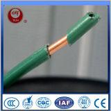 Alambre eléctrico de cobre del AWG Conducotr de Thhn 16