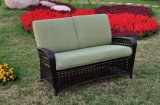 Mobília de vime do Rattan da tabela ao ar livre de vime da cadeira da mobília do Rattan do sofá