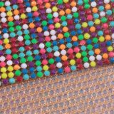 Folha quente do engranzamento do Rhinestone do reparo cor nova do projeto da multi para a senhora Pingamento Rgl-004