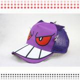 6 chapeaux de sport de base-ball de panneau avec le modèle spécial
