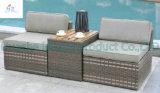Sofa di vimini Outdoor Rattan Furniture con Chair Table Wicker Furniture Rattan Furniture per Outdoor Furniture con Sofa Furniture