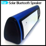 Mini portátil altavoz Bluetooth con reloj despertador FM Radio Solar Powered