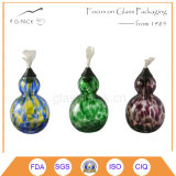 Petróleo da cor contínua/lâmpada tabela de vidro do querosene