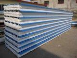 Nuevo taller de la estructura de acero del panel de pared de emparedado (SP-011)