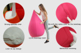 居間のための3DポリエステルLycra /Bean袋の椅子との慰めの大人のための豆袋