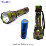 LED-nachladbare Batterie-Aluminiumfackel, die taktische CREE Maglite Taschenlampe jagt