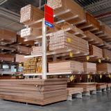 Crémaillère en porte-à-faux d'étagère en métal de mémoire de bois de charpente de qualité