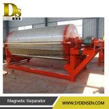 Tipo seco máquina elevada da separação magnética do inclinação para o minério de ferro