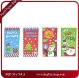 Коробки деньг, проверки & подарка владельца карточки рождества