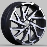 Borda da roda de carro da roda da liga A356.2 de alumínio para a venda