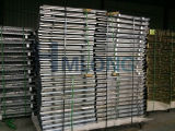 Metall Stackable Wire Cage Pallet mit Wooden Pallet